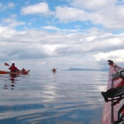 Sea kayaking Glenuig Inn