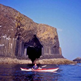 sea kayaking Staffa