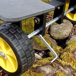 Kayak and Canoe Sand wheels
