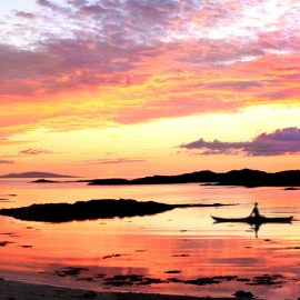 Traigh Bay sunset Arisaig