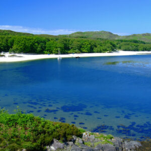 Scotland Highland Inverness-shire The Sands of Morar near Mallaig
