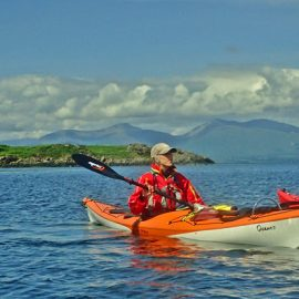 sea kayaking firth of lorne