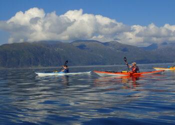 sea kayaks,sea kayakaing, guided trips, sea kayaking courses