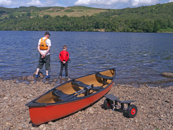 canadian canoe and adventure trolley
